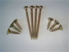 Chipboard Screw Double Countersunk Head Heat Treatment