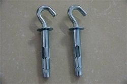 Hook bolt sleeve anchor