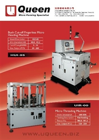 micro forming & rolling machines