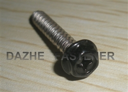 hex washer PH tapping screw powder sprayed SS