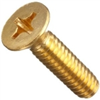 brass machine screw phil  csk head(DIN965)
