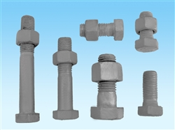 hot dip galvanized bolts with nuts