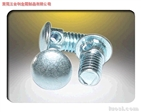 Carriage bolt with hole