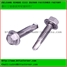 stainless steel hex flange self drilling screw
