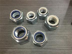 hot forge big size nylon lock nuts