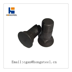 plow bolt black oxide