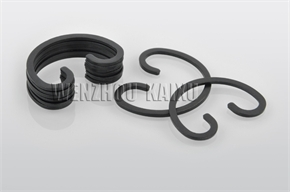 auto snap ring for piston pin