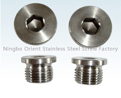 stainless steel screw, screw, oil plug (din908/jbzq4444)