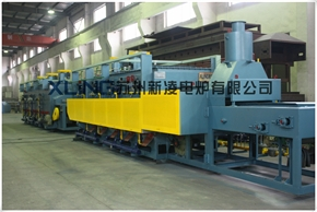 (Gas Heating) Conveyor Furnace Production Line