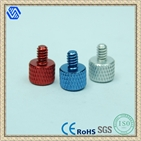 aluminum color hand screw,hand tighten screws,thumb screws
