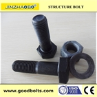 Normal hex bolt ,nut and washer grade4,6,8(ISO9001:2008 Certificated)