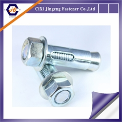 sleeve anchor with hex nut