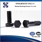 High strength large hex head bolt and nut ASTM A325, A325M