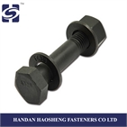 12.9 grade high strength steel hex bolt made in China with ISO 9001: 2008