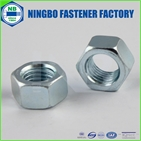 astm/asme/ansi a563 grade c cr+3 blue white zinc plated heavy hex nut
