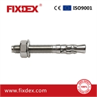 Wedge anchor/through bolt stainless steel