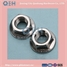 DIN6923, Hex Flange Nuts with Toothed, Carbon Steel, Zinc Planted