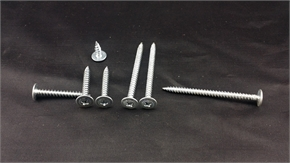self  tapping screws,wafer head,Phillips 2,  sharp point