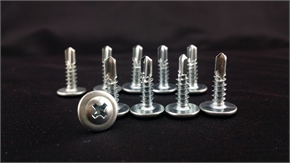 self  tapping screws,wafer head,Phillips 2,   self drilling point