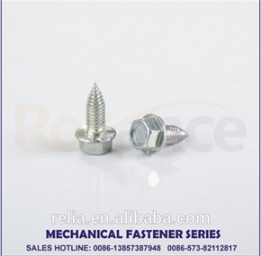 DIN 6928 Hexagon washer head self tapping screws