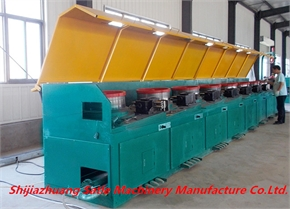chinese supplier straight line steel wire drawing machine