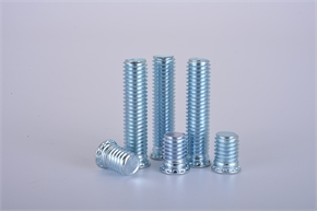 carbon steel zine plated self clinching stud bolt