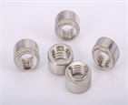 M8 galvanized carbon steel zinc plated self clinching nut