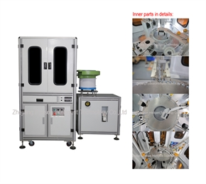 Glass Dial Sorting Machine Available for 2~4 cameras High transparent glass dial. Fit for grease-fr