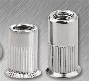 csk hd rivet nut with half knurled