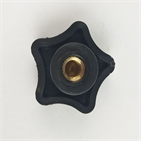 black plastic pentagon hardware accessories