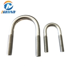 din3570 stainless steel a2-70 ss304 u bolts