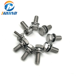 Stainless Steel A2-70 A4-80 SEM Combine Hex Bolt