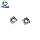 DIN557 Stainless Steel SS304 SS316 316L Square Nuts