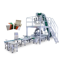 automatic hardware packing machine supplier-dual cartonning system