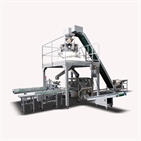automatic screw packing machine exporter-cartonning bagging system