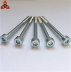 customize special fillister torx head bolts with half thread