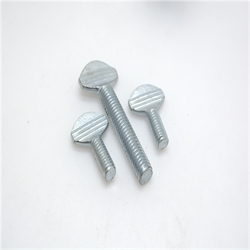 q235 steel zinc plated thumb screw