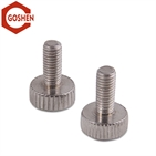 ss304/316 knurled round head thumb screw