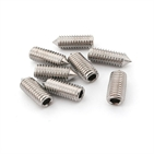 Stainless Steel Plain Hex Socket Set Screws With Cone Point