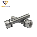 Hexagon socket head cap screws with spring washer assemblies DIN912