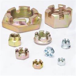DIN935 Fine Hexagon Slotted nuts
