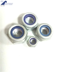 DIN985/DIN982 Prevailing torque type hexagon nut with nonmetallic insert