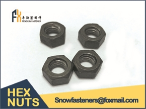 HEX NUTS on stock M8-M60 hot dip galvanized