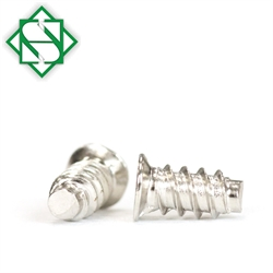 nickel plated finish type b m3 x 9 phillips drive flat haed tapping screws