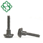 Black Oxide Finish Hex Washer Head Phillips Drive Self Tapping Screws