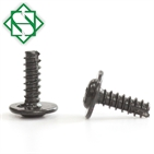 BLACK OXIDE Finish Steel Thread Cutting Screw with Phillips Drive Truss Head