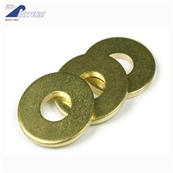 yellow zinc plated flat washers