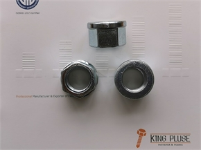 DIN74361-2 Type B hexagon Nut with Flange / Wheel Nut / Automotive Nut