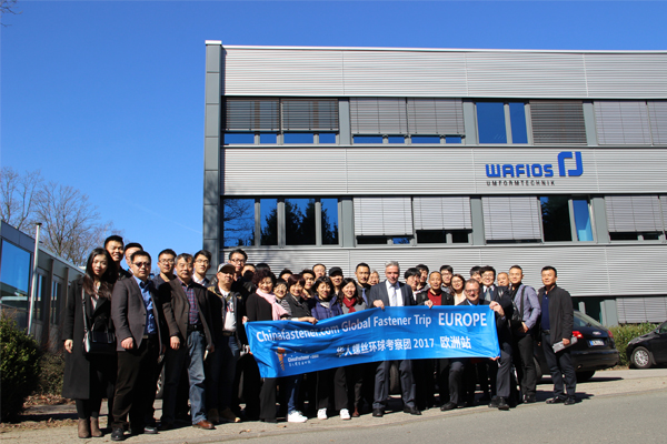 33 Leaders of Chinese Fastener Companies Went to Germany for a Wonderful Business Trip
