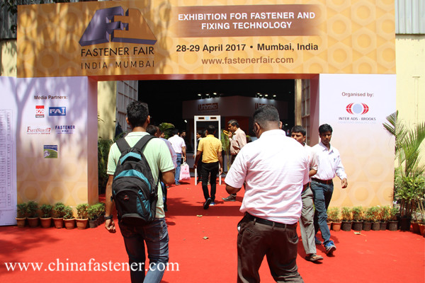More than 60 Chinese companies took part in Fastener Fair India, Mumbai 2017